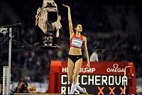 Friidrett<br /> IAAF Diamond League<br /> Brussel 16.09.2011<br /> Foto: PhotoNews/Digitalsport<br /> NORWAY ONLY<br /> <br /> Anna Chicherova (RUS)