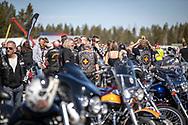 Jämtland, SVERIGE - 18 MAJ 2019: Bikers på Optandsfältet. (Foto: Per Danielsson/Projekt.P ) <br /> <br /> Nyckelord Keywords: Springmeet 2019, Ope Flygfält,
