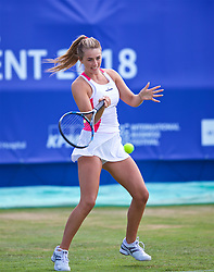 LIVERPOOL, ENGLAND - Thursday, June 21, 2018: Ellie Tsimbilakis (GBR) during day one of the Williams BMW Liverpool International Tennis Tournament 2018 at Aigburth Cricket Club. (Pic by Paul Greenwood/Propaganda)