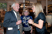 JOHN RENDALL; KAY SAATCHI; ZOE HOARE;  The Pimlico Road Summer party. London SW1. 9 June 2009