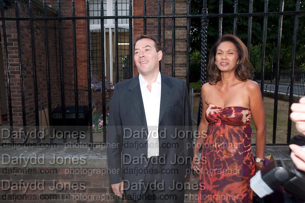ALAN MILLER; GINA MILLER, Conservative Summer Party. Royal  Hospital Chelsea. London.  5 July 2010. -DO NOT ARCHIVE-© Copyright Photograph by Dafydd Jones. 248 Clapham Rd. London SW9 0PZ. Tel 0207 820 0771. www.dafjones.com.
