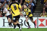 Cory Jane. NSW Waratahs v Hurricanes. 2010 Super 14 Rugby Union round 14 match played at the Sydney Football Stadium, Moore Park Australia. Friday 14 May 2010. Photo: Clay Cross/PHOTOSPORT