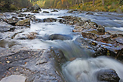 Looking upstream from Dog Falls in the Scottish Highlands