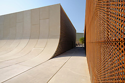New art district space Warehouse421 in Abu Dhabi's Al Mina district opening in November 2015 in United Arab Emirates