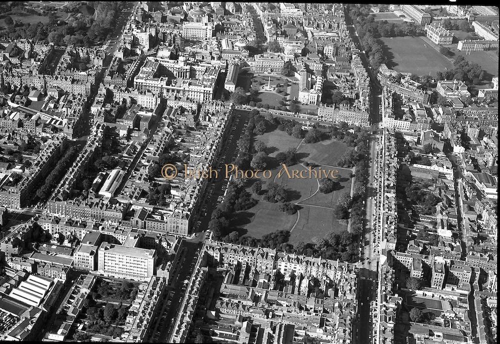 Aerial Views of Dublin.06/11/1963 Photos, Photo, Snap, Streets, Street,