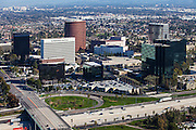 Costa Mesa Aerial Stock Photo