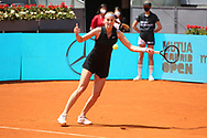Petra Kvitova of Czech Republic during the Mutua Madrid Open 2021, Masters 1000 tennis tournament on May 3, 2021 at La Caja Magica in Madrid, Spain - Photo Laurent Lairys / ProSportsImages / DPPI