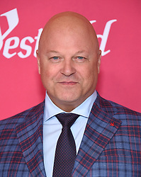 February 19, 2019 - Beverly Hills, California, U.S. - Michael Chiklis arrives for the 21st CDGA (Costume Designers Guild Awards) at the Beverly Hilton Hotel. (Credit Image: © Lisa O'Connor/ZUMA Wire)