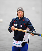 Caversham, Great Britain,  Matt LANGRIDGE, GB Rowing media day at the Redgrave Pinsent Rowing Lake. GB Rowing Training centre. Wed. 20.04.2008  [Mandatory Credit. Peter Spurrier/Intersport Images] Rowing course: GB Rowing Training Complex, Redgrave Pinsent Lake, Caversham, Reading