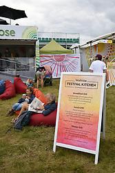 Latitude Festival 2017, Henham Park, Suffolk, UK. New for this year the Waitrose Festival Kitchen
