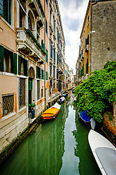 Canal scene in Venice. Italy<br /> <br /> (c) Andrew Wilson | Edinburgh Elite media