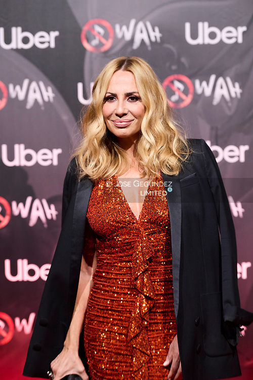 Marta Sanchez attends 'Wah' Musical Show World Premiere Red Carpet at IFEMA on October 7, 2021 in Madrid, Spain