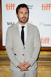 Casey Affleck attends the Old Man and The Gun screening held at the Elgin Theatre during the Toronto International Film Festival in Toronto, Canada on September 10th, 2018. Photo by Lionel Hahn/ABACAPRESS.com