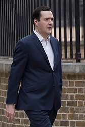 © licensed to London News Pictures. London, UK 26/06/2013. Chancellor of the Exchequer George Osborne walking to Downing Street on Wednesday, 26 June 2013. Photo credit: Tolga Akmen/LNP