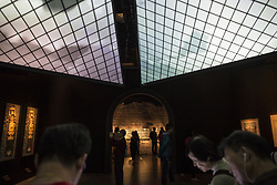 April 26, 2017 - Hong Kong, Hong Kong - Exhibition ''From Palace to Museum over 800 Years'' jointly organized by Hong Kong Heritage Museum and the Louvre Museum in Hong Kong Heritage Museum. These exhibition shows diversity collections from Louvre Museum, displaying paintings, sculptures, ceramics, tapestries. The exhibition held from April 26, 2017 to July 24, 2017. (Credit Image: © Long Hei Chan/Pacific Press via ZUMA Wire)