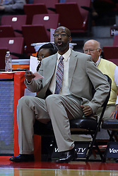 26 November 2016:  Brian Reese during an NCAA  mens basketball game between the IUPUI Jaguars the Illinois State Redbirds in a non-conference game at Redbird Arena, Normal IL