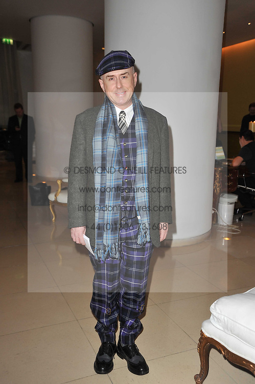 HOLLY JOHNSON at a Burns Night dinner in aid of cancer charity CLIC Sargent held at St.Martin's Lane Hotel, London on 25th January 2011.