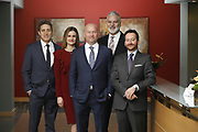 SHOT 1/8/19 12:25:18 PM - Bachus & Schanker LLC lawyers James Olsen, Maaren Johnson, J. Kyle Bachus, Darin Schanker and Andrew Quisenberry in their downtown Denver, Co. offices. The law firm specializes in car accidents, personal injury cases, consumer rights, class action suits and much more. (Photo by Marc Piscotty / © 2018)