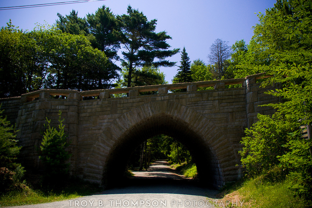 Eagle Lake Bridge.Carriage Road 4/6