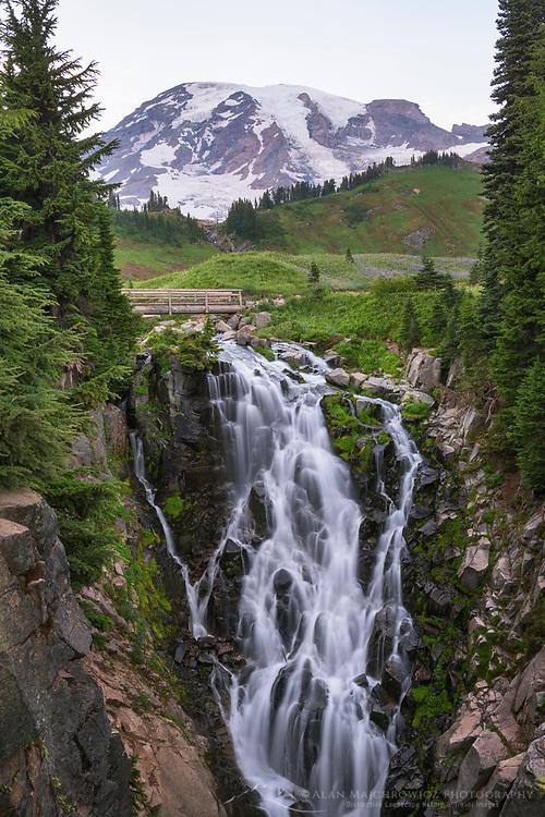 Myrtle Falls Mount Rainier National Park