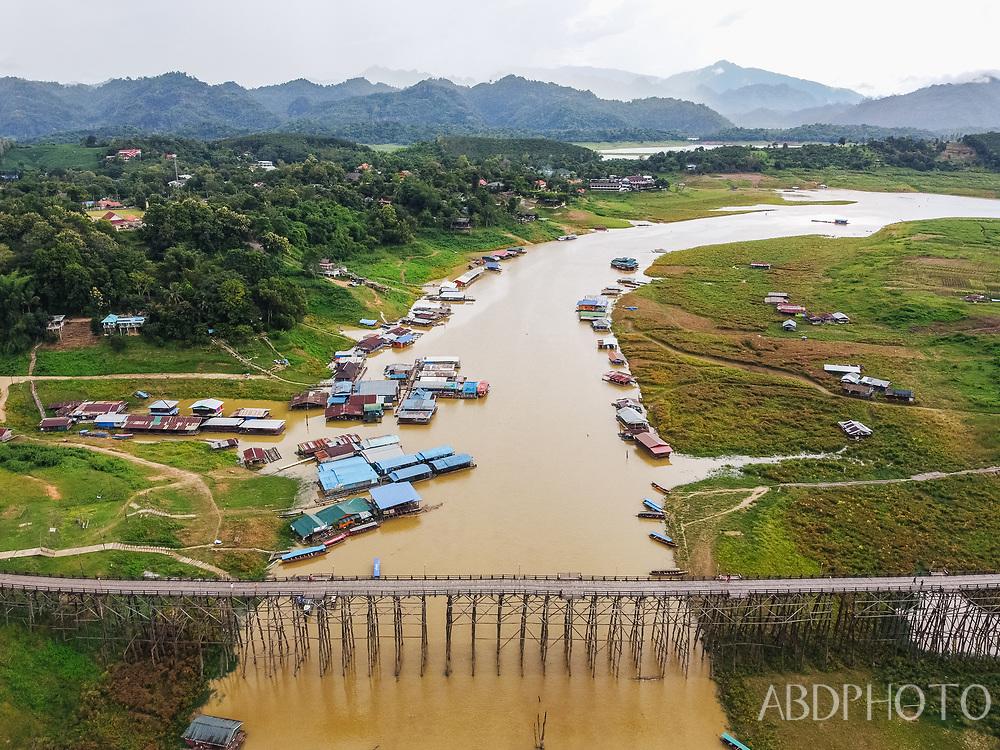 DCIM\102MEDIA\DJI_0440.JPG Sangkhlaburi, Kanchanaburi, Thailand