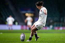 Katy Daley-Mclean of England Women - Mandatory by-line: Robbie Stephenson/JMP - 16/03/2019 - RUGBY - Twickenham Stadium - London, England - England Women v Scotland Women - Women's Six Nations