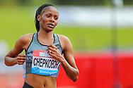 Beatrice CHEPKOECH in the Women's 3000m Steeplechase, who went on to win the race during the Muller Grand Prix at Alexander Stadium, Birmingham, United Kingdom on 18 August 2019.