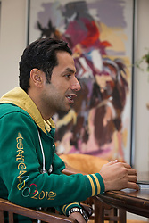 At home with Kamal Bahamdan (KSA)<br /> Tops Stables - Valkenswaard 2012<br /> © Dirk Caremans