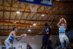 Glas  Gregor of Slovenia during basketball match between National teams of Slovenia and France in the Group Phase C of FIBA U18 European Championship 2019, on July 27, 2019 in Nea Ionia Hall, Volos, Greece. Photo by Vid Ponikvar / Sportida