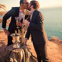 Danny and Jon Outdoor SB Wedding Nov 2015