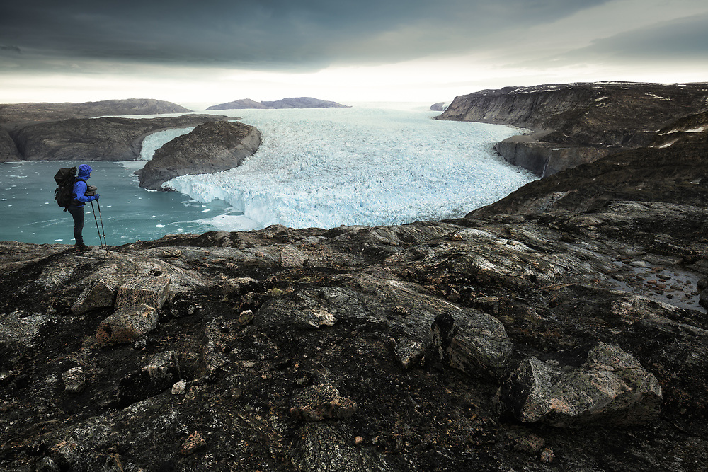 Raw and primitive landscapes of Northern Greenland