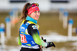Urska Poje (SLO) during Single Mixed Relay at day 1 of IBU Biathlon World Cup 2018/19 Pokljuka, on December 2, 2018 in Rudno polje, Pokljuka, Pokljuka, Slovenia. Photo by Ziga Zupan / Sportida