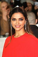 Deepika Padukone, xXx: Return of Xander Cage - European film premiere, The O2, London UK, 10 January 2017, Photo by Richard Goldschmidt