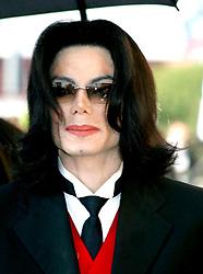 ©2005 RAMEY PHOTO 310-828-3445<br /> <br /> Los Angeles, April 6,2005<br /> <br /> Funeral for Johnnie Cochran Jr. at West Los Angeles Cathedral.<br /> <br /> <br /> This photo: MICHAEL JACKSON<br /> <br /> <br /> <br /> PG/jet (Mega Agency TagID: MEGAR76099_6.jpg) [Photo via Mega Agency]