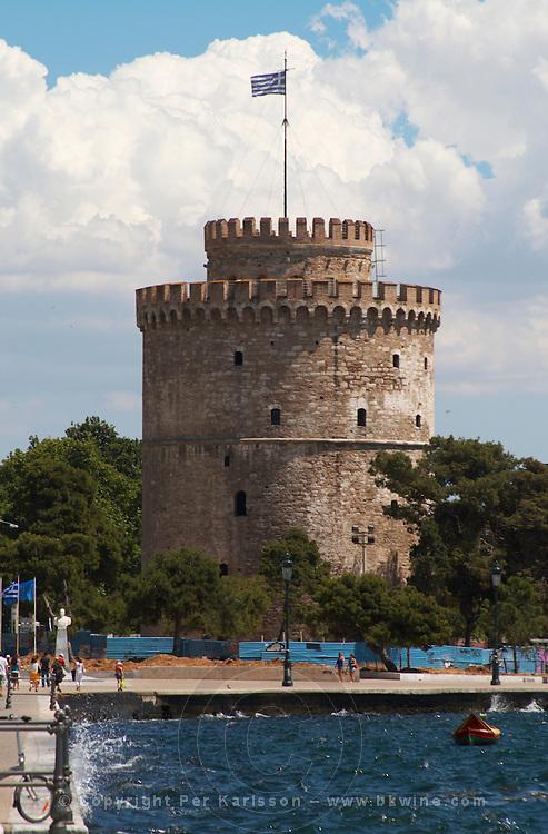 The White Tower. Thessaloniki, Macedonia, Greece