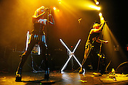 Angelspit performs on their 25 Anniversary Tour at Gramercy Theater, NYC. September 25, 2009.