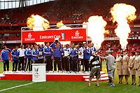 Photo: Richard Lane/Richard Lane Photography. Juventus v SV Hamburg. Emirates Cup. 03/08/2008. Hamburg celebrate winning the Emirates Cup.
