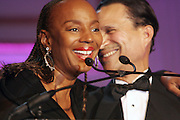 l to r: Susan Taylor and Khepra Burns at The Fifth Annual Grace in Winter Gala honoring Susan Taylor, Kephra Burns, Noel Hankin and Moet Hennessey USA and benfiting The Evidence Dance Company held at The Plaza Hotel on February 3, 2009 in New York City.