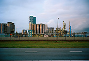 Refinery Markerweg, Europoort. © Holland Ektar series