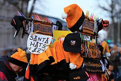 9th December 2017 - Sky Bet EFL Championship - Wolverhampton Wanderers v Sunderland - Santa hats for sale on a souvenir stall - Photo: Simon Stacpoole / Offside.