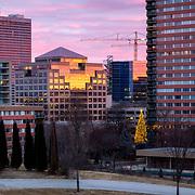 Kansas City Missouri, 2019 Mayor's Christmas Tree at Crown Center. This was the first Mayor's Tree under the Quinton Lucas mayoral adminstration of Kansas City, Missouri.
