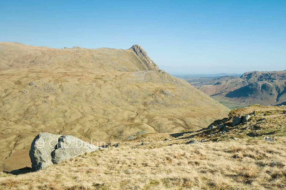 Pike o' Stickle (mostly) hides its glory from the North!