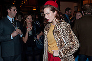 CHARLOTTE DELLAL, BFC/Vogue Designer Fashion Fund winner Christopher Kane announcement. Almada, 33 Dover Street, London,2 February 2011 -DO NOT ARCHIVE-© Copyright Photograph by Dafydd Jones. 248 Clapham Rd. London SW9 0PZ. Tel 0207 820 0771. www.dafjones.com.