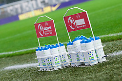 Bottles during FIFA Women's World Cup 2015 Group A qualification match between Slovenia and Germany on October 26, 2013 in SRC Bonifika, Koper, Slovenia. (Photo by Matic Klansek Velej / Sportida.com)