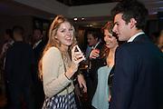 TATIANA HAMBRO; HARRIET ROWLINGTON; CHARLES HAMBRO, The Gentleman's Journal Autumn Party, in partnership with Gieves and Hawkes- No. 1 Savile Row London. 3 October 2013