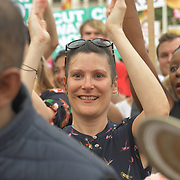 Hundreds JC supporters attend Jeremy Corbyn and rally demand for a General Election – Now, London, UK at Parliament Square, UK.