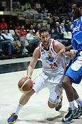 DESCRIZIONE : Bologna campionato serie A 2013/14 Acea Virtus Roma Enel Brindisi <br /> GIOCATORE : Riccardo Moraschini<br /> CATEGORIA : palleggio<br /> SQUADRA : Acea Virtus Roma<br /> EVENTO : Campionato serie A 2013/14<br /> GARA : Acea Virtus Roma Enel Brindisi<br /> DATA : 20/10/2013<br /> SPORT : Pallacanestro <br /> AUTORE : Agenzia Ciamillo-Castoria/GiulioCiamillo<br /> Galleria : Lega Basket A 2013-2014  <br /> Fotonotizia : Bologna campionato serie A 2013/14 Acea Virtus Roma Enel Brindisi  <br /> Predefinita :