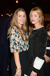 Left to right, LUCY DAY and ROSE VAN CUTSEM at the Vogue Pop Up Club at Westfield London to celebrate Westfield London's 5th birthday on 30th October 2013.