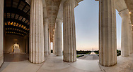 Lincoln Memorial, Washington, DC<br /> Stitched Panorama