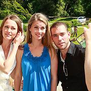 ITA/Lucca /20130521 - Presenttie Cast film De Toscaanse Bruiloft, Sophie van Oers, Medi Broekman en Matteo van der Grijn